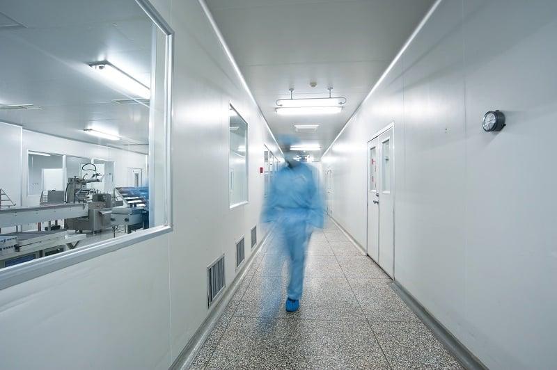 07AUG20 GMP facility lab person drug manufacturing phramaceuticals