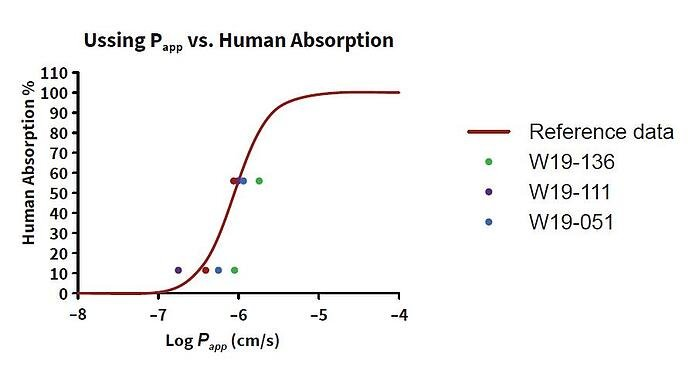 Relationship between permeability and human absorption in intestinal resections.